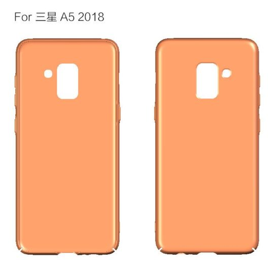 New Galaxy A5 (2018) case renders leaked