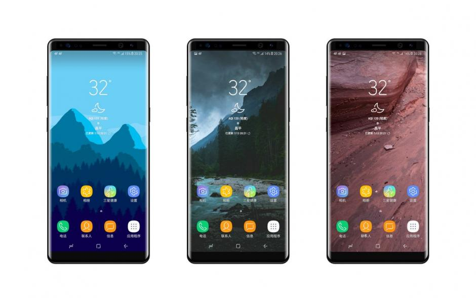 Galaxy A (2018) Infinity Display renders showcased