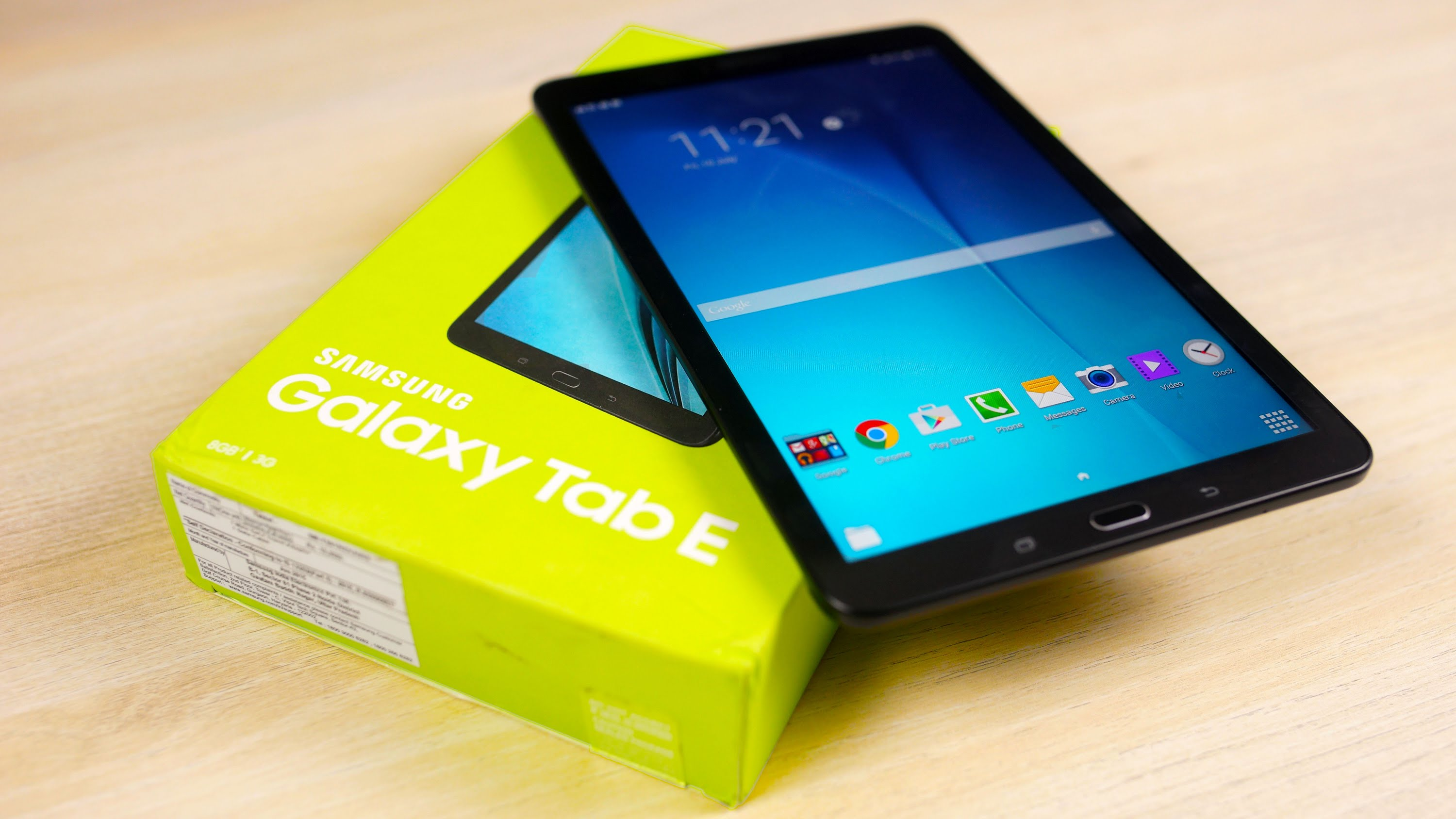 Tab e android update